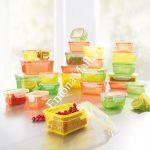 Комплект кутии за съхранение GourmetMaxx 50 части