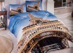 Спален Комплект Памучен Сатен 3D