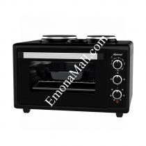 Малка готварска печка Diplomat AP50-32B Black, 50 L - Код G7078
