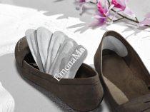 Кожени подложки за обувки против пришки (6бр) - Код G1597