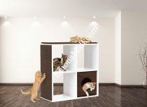 Дизайнерски рафт за котки