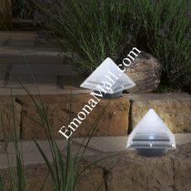 """Соларна лампа """"Пирамида"""" - Код G1804"""