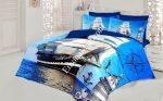 Спален Комплект Памучен Сатен 3D - Модел S3196
