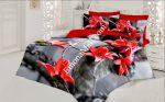 Спален Комплект Памучен Сатен 3D - Модел S3199