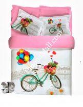 Спален 3D Комплект от Бамбуков Сатен - S3341