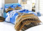 Спален Комплект Памучен Сатен 3D - Модел S5940