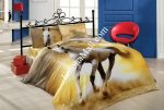 Спален Комплект Памучен Сатен 3D - Модел S6273