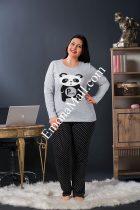 Дамска пижама 3 части макси