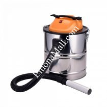 Прахосмукачка за пепел SAPIR SP 1001 DS18S 1000W, 18 литра, функция духане, перящ се HEPA филтър - Код G8083