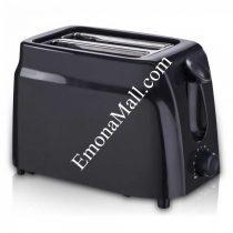 Тостер за хляб SAPIR SP 1440 D, 750W, Регулиране на запичането, Тавичка за трохи, Черен - Код G8255