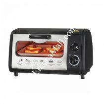 Тостер за сандвичи - фурна SAPIR SP 1441 P, 600W, 9 литра, Таймер, Тавичка, Черен - Код G8258