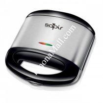 Тостер за сандвичи с мраморно покритие SAPIR SP 1442 ALM, 750 W, грил плочи - Код G8192