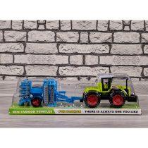 Трактор с култиватор (фрикционен) - Код W1865