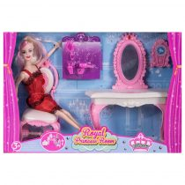 Комплект кукла с тоалетка и аксесоари - Код W2444