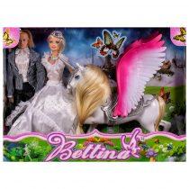 Кукли младоженци със чупещи се стави и еднорог - Код W2450