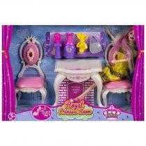 Комплект кукла с тоалетна масичка и аксесоари - Код W2464