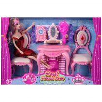 Комплект кукла с тоалетка и аксесоари - Код W2478