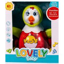 Забавна кокошка с реалистични звуци и светлини - Код W2528