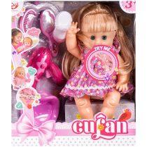 Кукла пишкаща с гърне и аксесоари - Код W2591
