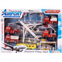 Комплект летище с пожарни коли - Код W2627