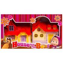 Къща и фигурки на момиченце и мечок - Код W2647
