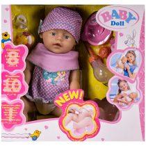 Кукла пишкаща с памперс, гърне и аксесоари - Код W2657