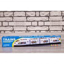 Влак с реалистични звуци и 4D светлинни ефекти - Код W2662