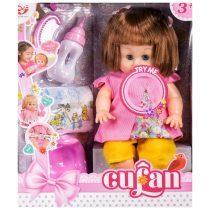 Кукла пишкаща и аксесоари - Код W2675