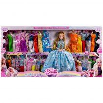 Кукла с чупещи се ръце и 32 рокли - Код W2734