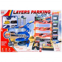 Комплект паркинг на четири етажа с елеватор - Код W2743