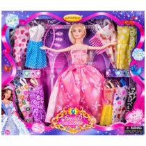 Кукла с 12 допълнителни рокли - Код W2849