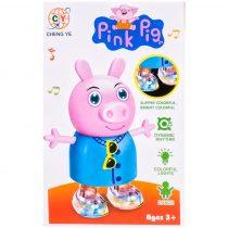 Танцуващ прасчо Peppa Pig със светлинни ефекти - Код W2925