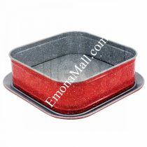 Форма за торта с падащо дъно ZEPHYR Red Passion ZP 1223 EHS, 27.5 см, Мраморно покритие - Код G8297
