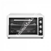 Готварска печка ZEPHYR ZP 1441 T40, 1400W, 40 литра, Терморегулатор, Таймер, Тава 34 см, Бял - Код G8244