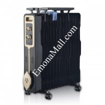 Радиатор ZEPHYR ZP 1971 G13, 2500W, 13 ребра, 3 степени, Поставка за дрехи, Регулируем термостат - Код G8211